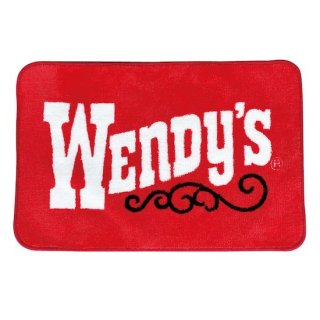 ウェンディーズ マット Wendys MAT ★Wendys OLD LOGO RED