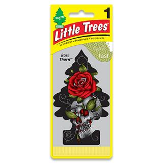 Little Trees リトルツリー エアーフレッシュナー ローズ・ソーン