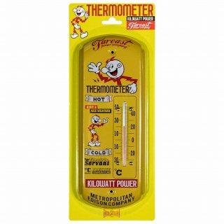 レディキロワット 温度計 THERMOMETER KILOWATT POWER  輸入雑貨/海外雑貨/直輸入/アメリカ雑貨/アメ雑