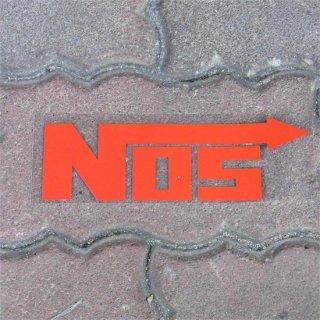NOS カッティングステッカー RD  輸入雑貨/海外雑貨/直輸入/アメリカ雑貨/アメ雑