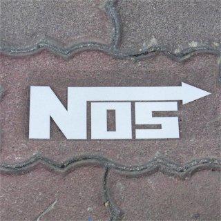 NOS カッティングステッカー WH  輸入雑貨/海外雑貨/直輸入/アメリカ雑貨/アメ雑