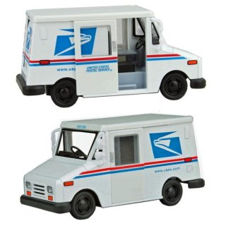 US USポストサービス デリバリートラック   ミニカー 輸入雑貨/アメリカ雑貨