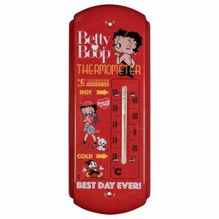 ベティ 温度計 THERMOMETER BETTY BOOP  輸入雑貨/海外雑貨/直輸入/アメリカ雑貨/アメ雑