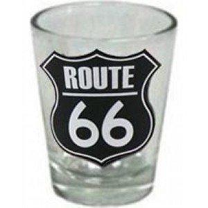 US ルート66 ショットグラス