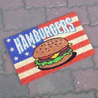 ミニコイヤーマット ハンバーガー