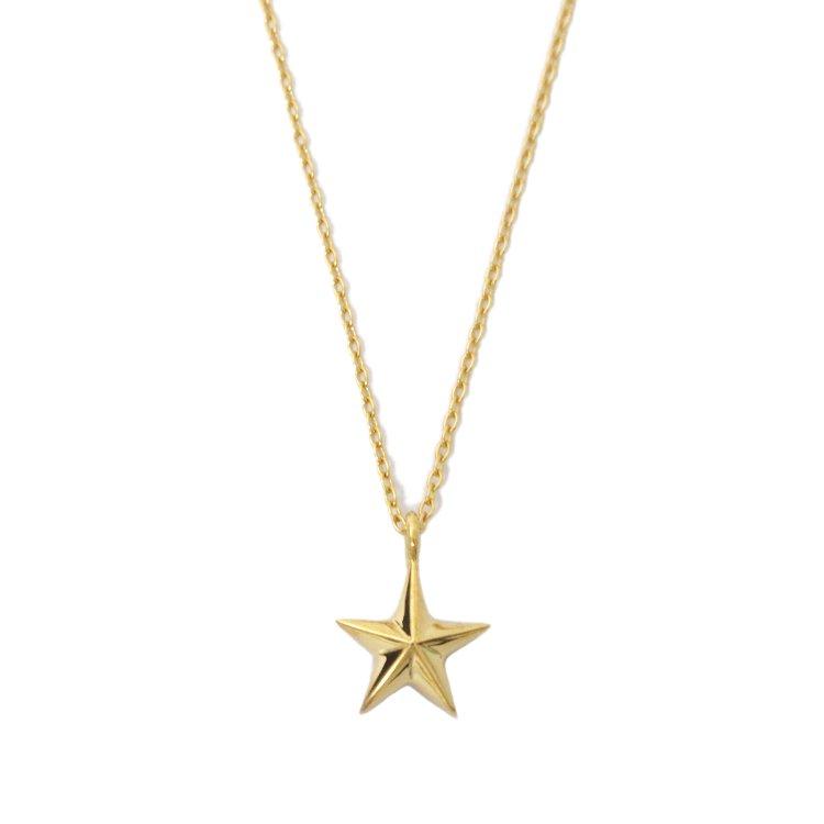 Licht by RiLish<br>K18 Star Necklace スターネックレス(M)