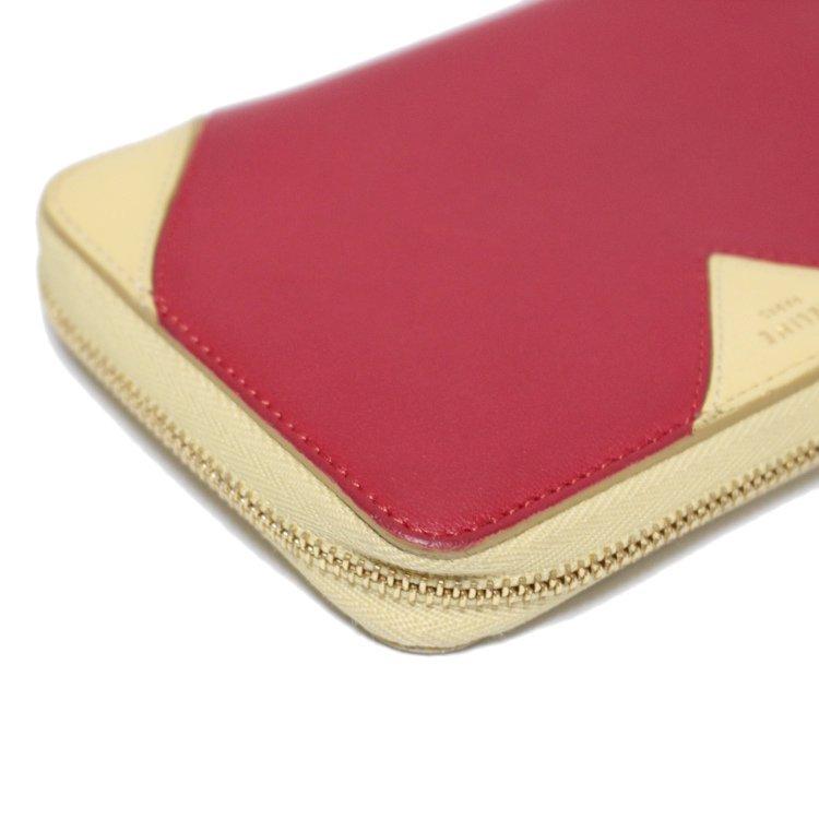 CELINE セリーヌ ヴィンテージ<br>ハートモチーフラウンドジップ二つ折り財布