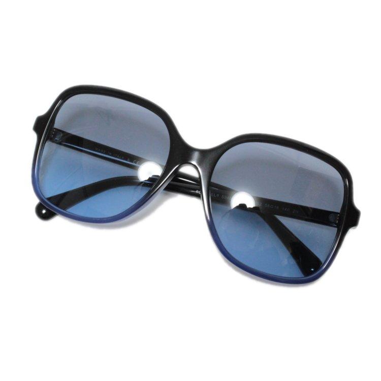 CHANEL シャネル ヴィンテージ<br>ココマークグラデーションサングラス ブルー