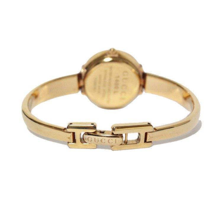 GUCCI グッチ ヴィンテージ<br>GGバングルQZ腕時計 1400L