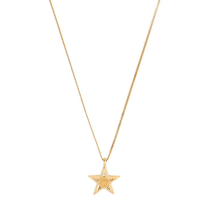 GIVENCHY ジバンシー ヴィンテージ<br>ロゴスターモチーフネックレス