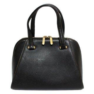 VALENTINO ヴァレンティノ ヴィンテージ<br>ボリード型レザーハンドバッグ