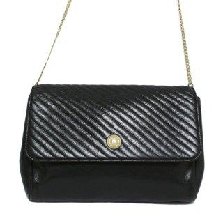 CELINE セリーヌ ヴィンテージ<br>2WAYブラゾンバイアスステッチチェーンバッグ