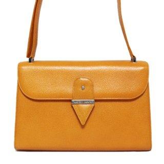 VALENTINO ヴァレンティノ ヴィンテージ<br>レザーショルダーバッグ