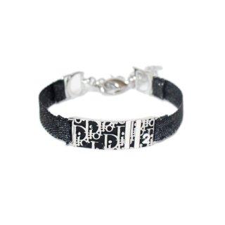 Dior ディオール ヴィンテージ<br>トロッターデニムブレスレット