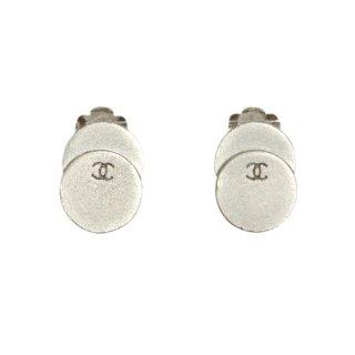 CHANEL シャネル ヴィンテージ<br>90'sココマークダブルサークルイヤリング