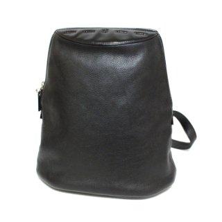 LOEWE ロエベ ヴィンテージ<br>レザーワンショルダーバッグ ブラック