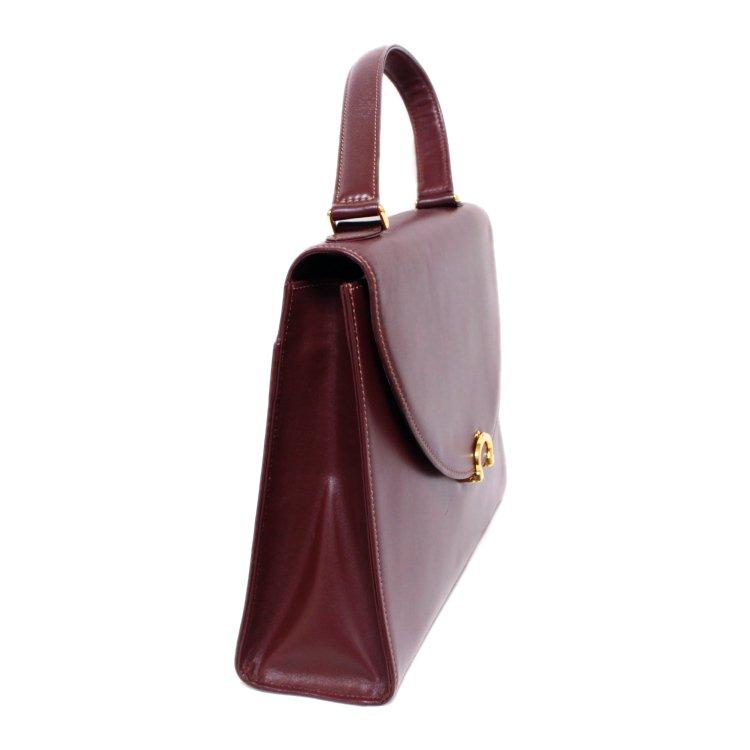 Cartier カルティエ ヴィンテージ<br>マストラインケリー型ハンドバッグ