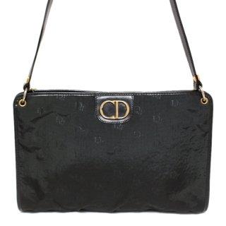 Dior ディオール ヴィンテージ<br>キャンバスロゴ総柄ショルダーバッグ