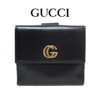 <img class='new_mark_img1' src='https://img.shop-pro.jp/img/new/icons14.gif' style='border:none;display:inline;margin:0px;padding:0px;width:auto;' />GUCCI グッチ ヴィンテージ<br>GGマーモント二つ折り財布