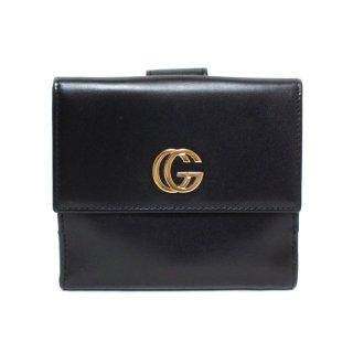 GUCCI グッチ ヴィンテージ<br>GGマーモント二つ折り財布