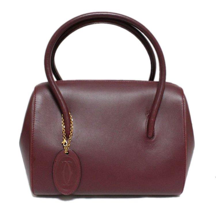 Cartier カルティエ ヴィンテージ<br>マストラインボストンバッグ