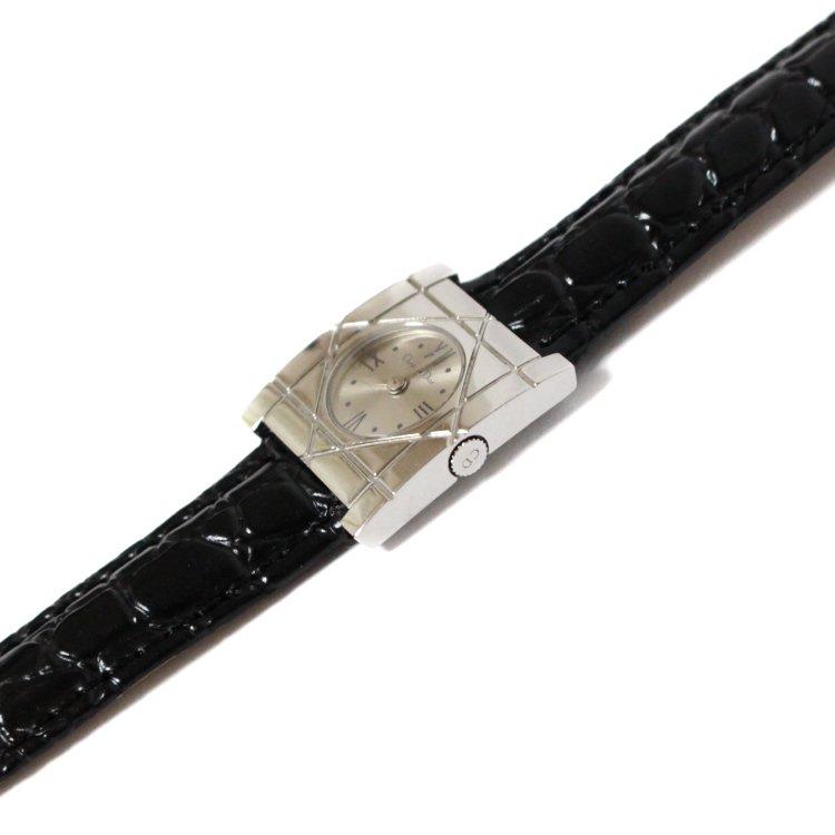 Dior ディオール ヴィンテージ<br>カナージュスクエアQZ腕時計