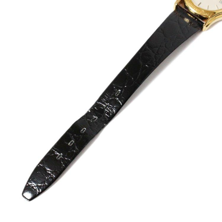 Dior ディオール ヴィンテージ<br>レザーベルトQZ時計