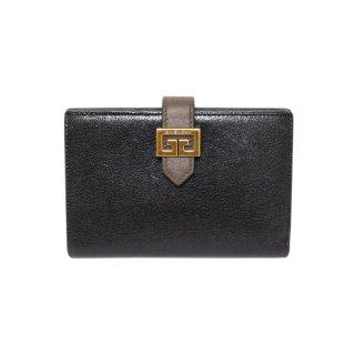 GIVENCHY ジバンシー ヴィンテージ<br>バイカラー二つ折り財布