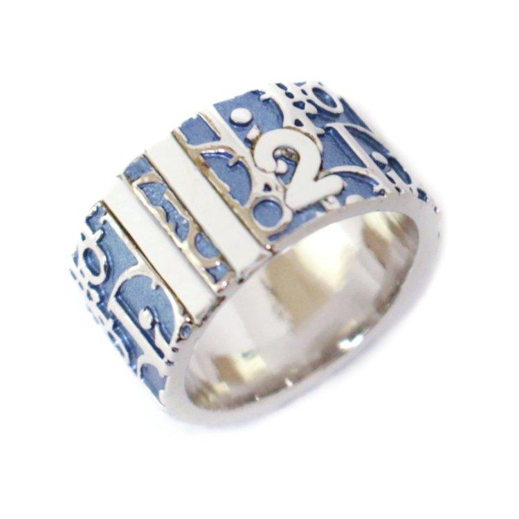 Dior ディオール ヴィンテージ<br>トロッターリング ブルー