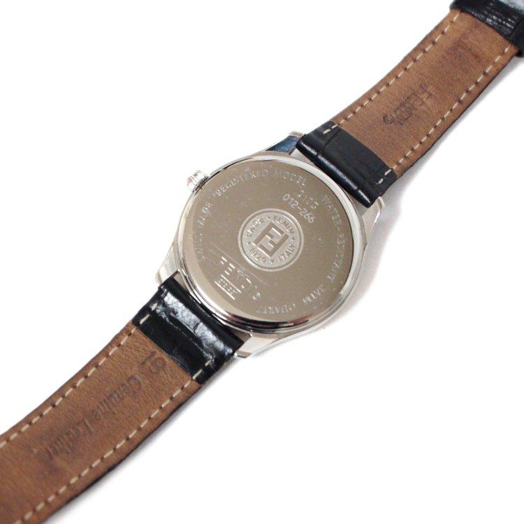 FENDI フェンディ ヴィンテージ<br>メンズレザーベルトQZ腕時計