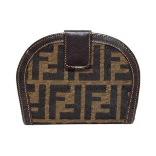 FENDI フェンディ ヴィンテージ<br>ズッカ柄二つ折り財布