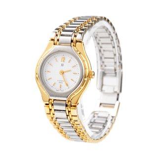 GIVENCHY ジバンシー ヴィンテージ<br>コンビカラーQZ腕時計