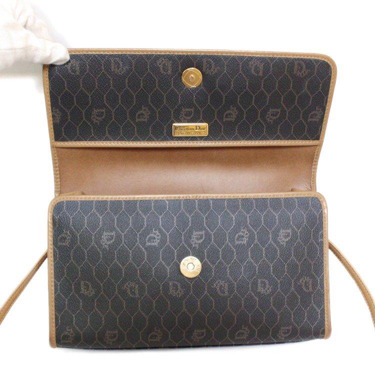 Dior ディオール ヴィンテージ<br>ハニカム柄コンパクトショルダーバッグ