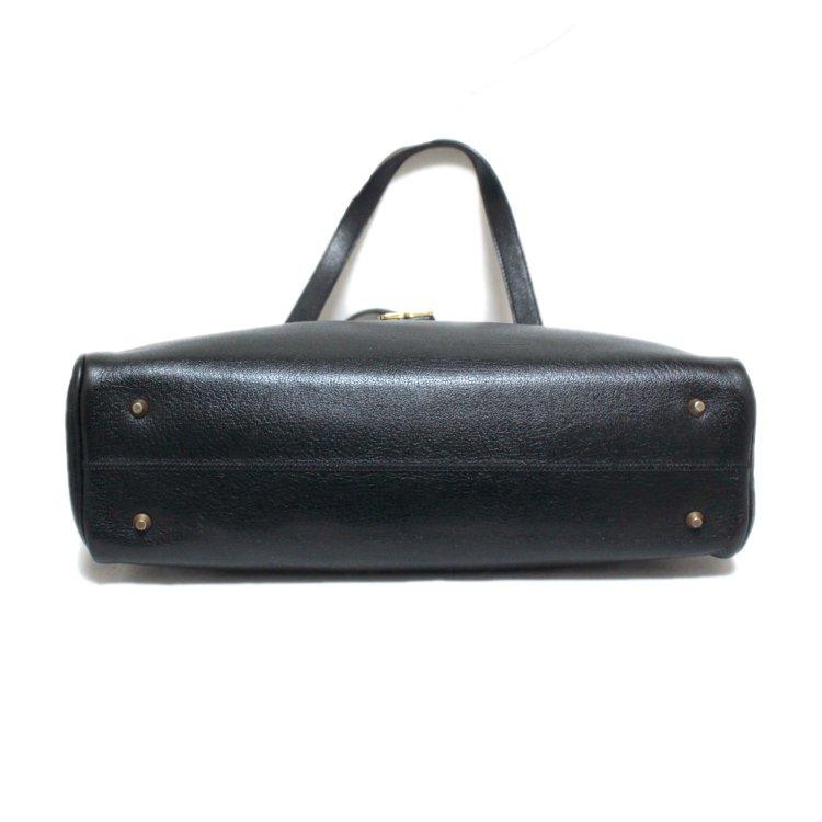 Dior ディオール ヴィンテージ<br>ロゴレザーハンドバッグ