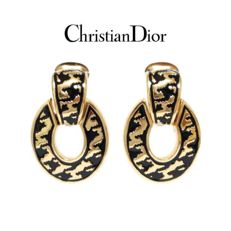 Dior ディオール ヴィンテージ<br>ハンドトゥースイヤリング