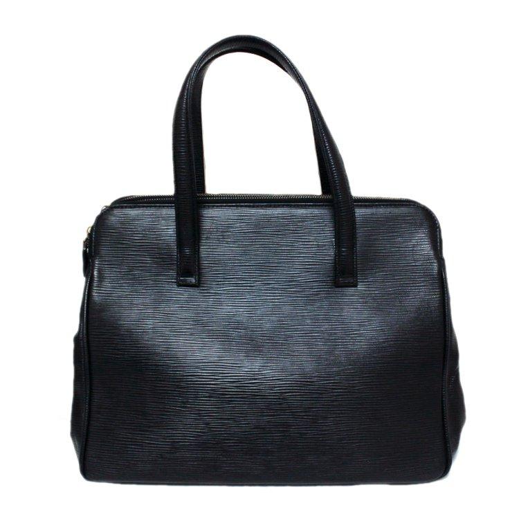 FENDI フェンディ ヴィンテージ<br>型押しレザーハンドバッグ