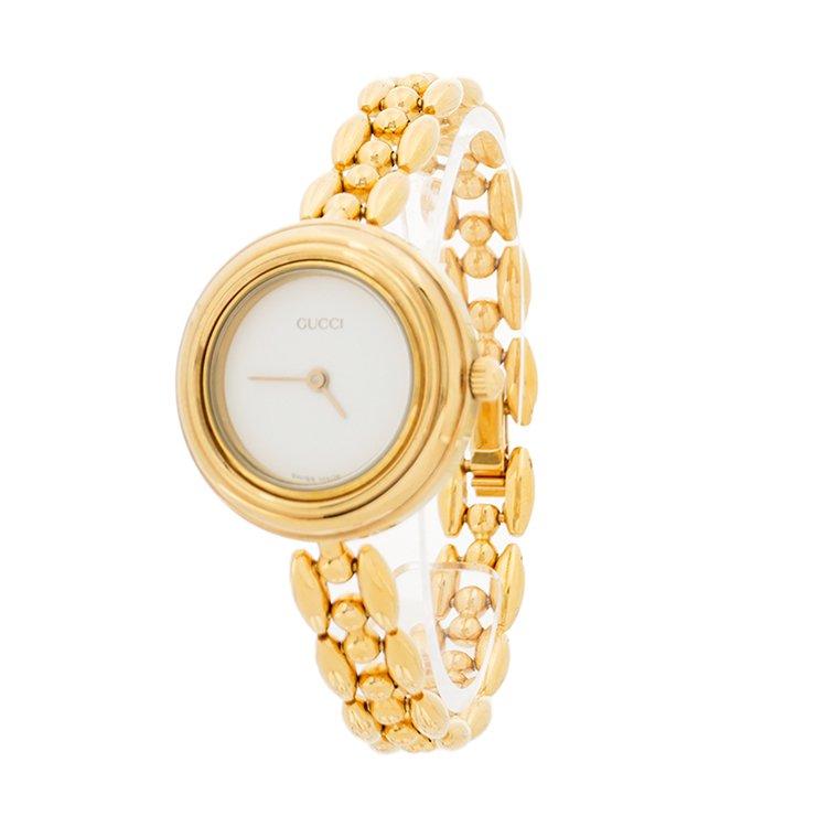 GUCCI グッチ ヴィンテージ<br>チェンジベゼルQZ腕時計 4色