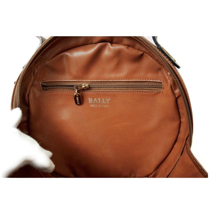 BALLY バリー ヴィンテージ<br>バイカラーサークルハンドバッグ