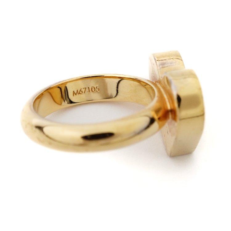 LOUIS VUITTON ルイヴィトン ヴィンテージ<br>バーグスパイキーバレンタインSペアリング 指輪