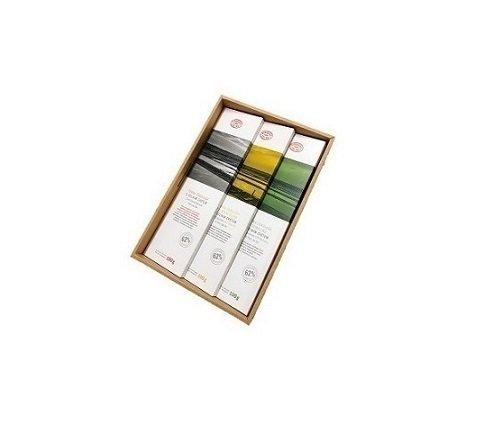 ソルトフラワー・ダークチョコレート 3種類セット(オリーブオイル)