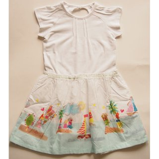 <img class='new_mark_img1' src='https://img.shop-pro.jp/img/new/icons24.gif' style='border:none;display:inline;margin:0px;padding:0px;width:auto;' />SALE 30%OFF!! Oilily ツイルコットンワンピース