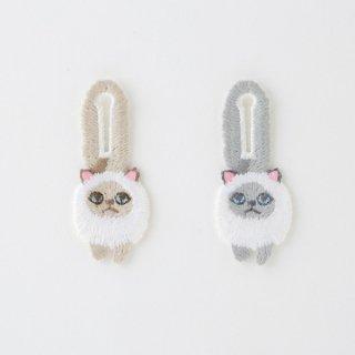KEORA KEORA(ケオラケオラ)つんつんボタン猫(ヒマラヤン)