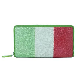 ガルーシャ 長財布 イタリア