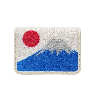 名刺入れ キャビア 富士山