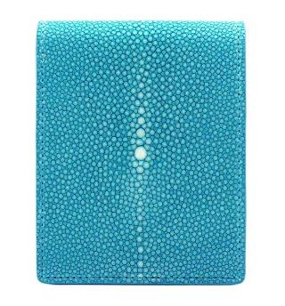 ショート 財布 (コインケースあり) ターコイズブルー