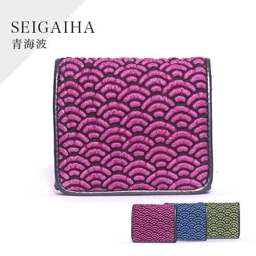 デコブランシェDW-03-23 青海波/折り財布