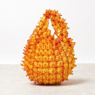 Petit bag Color No.1739(レモンイエロー*オレンジ)
