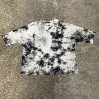 V Neck Cotton T Shirt Color No.1806(ホワイト*ブラック)