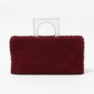 Clutch Bag Color No.DWH(ワイン)