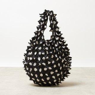 Large Dot Petit bag Color No.1860(ブラック*ホワイトDot)